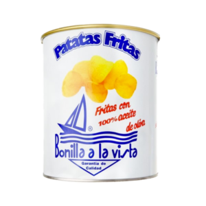Patatine in latta