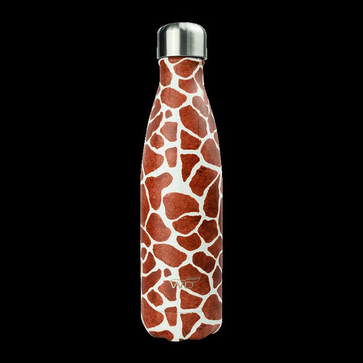 Bottiglia termica decorata - Giraffa