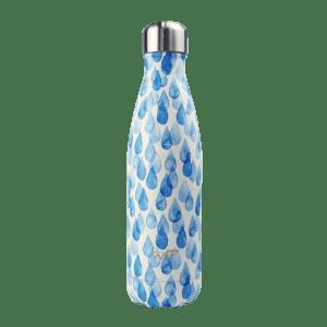 Bottiglia termica decorata - Goccie