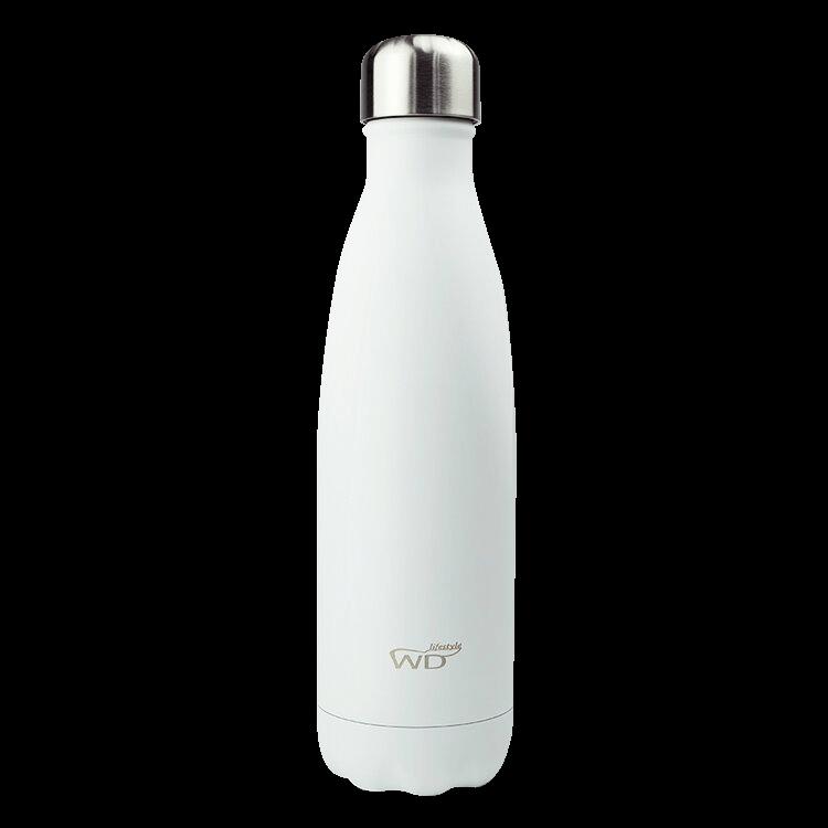 Bottiglia termica Monocolore - Bianco