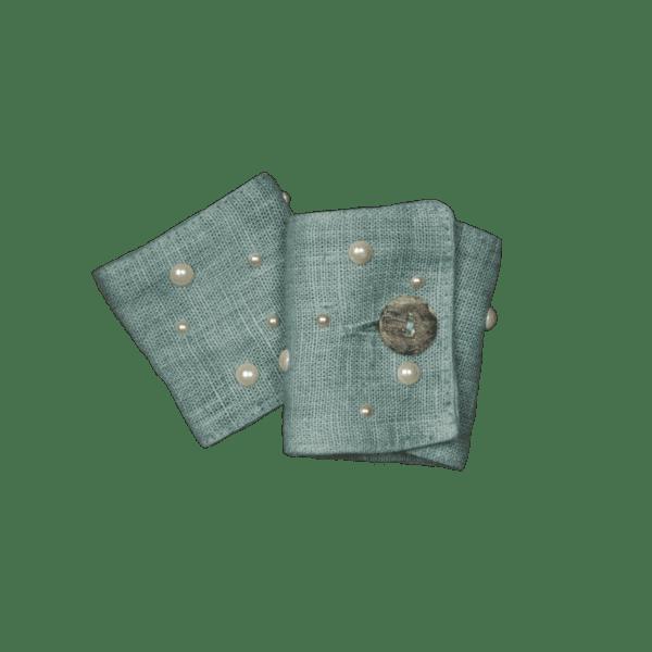 Cofanetto 6 Leggatovaglioli con Mezze Perle