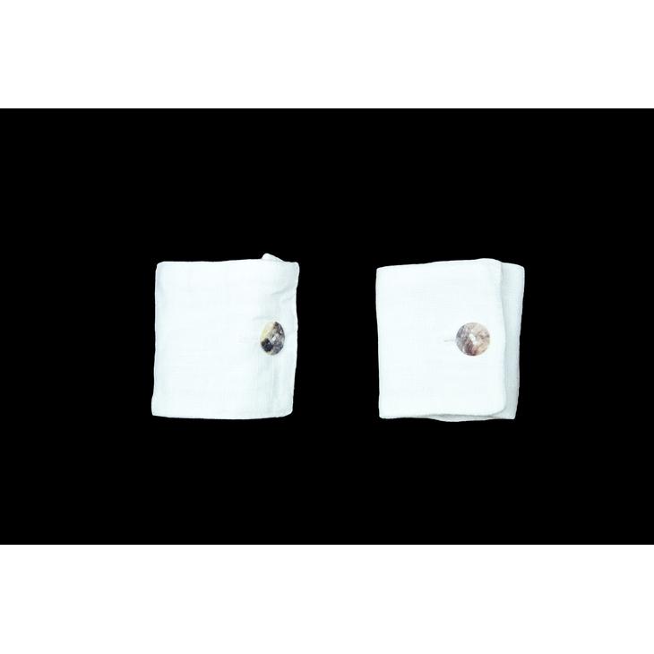 Cofanetto 6 Legatovaglioli Semplici - Bianco
